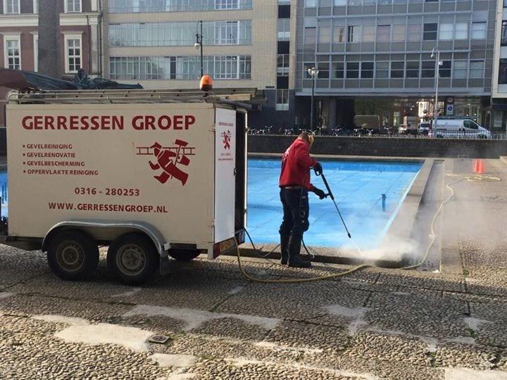 Reinigen | AKU fontein | Gemeente | Arnhem