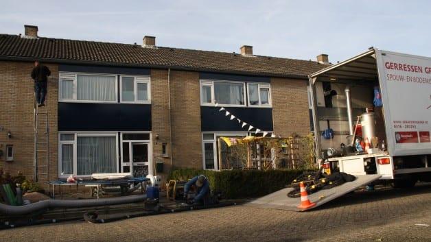 Spouwmuurisolatie en Bodemisolatie 11 woningen I Ewijk | Neopixels®
