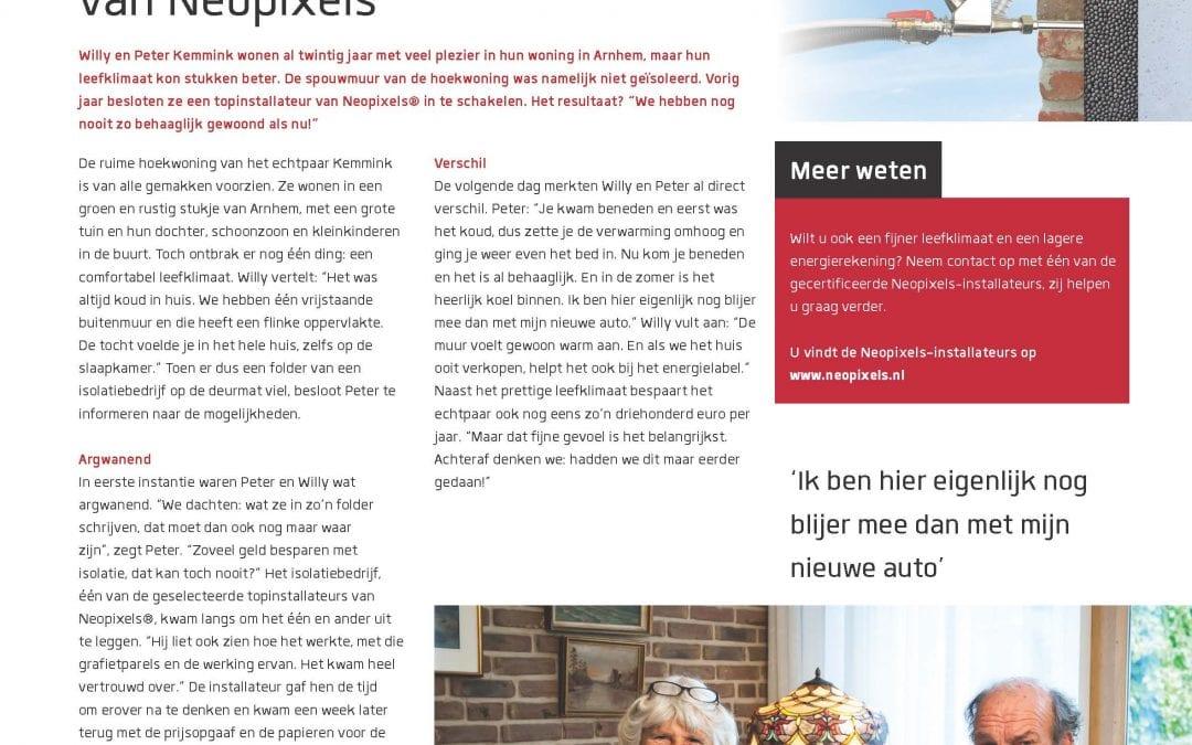 Spouwmuurisolatie   Neopixels®   Arnhem