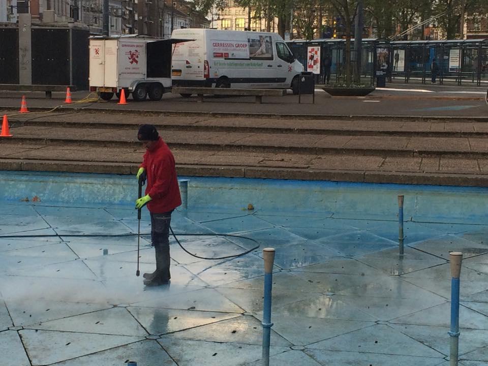 Reinigen | AKU fontein | Gemeente Arnhem