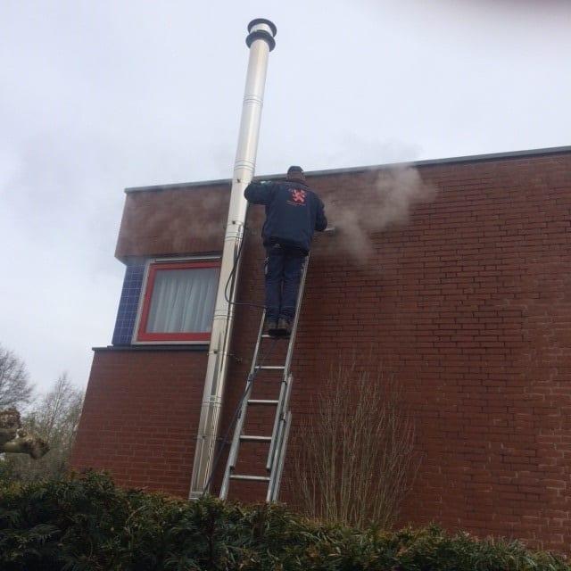 Gevelreiniging | Bedrijfspand | Apeldoorn