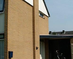 Gevelrenovatie van een particulier huis te Arnhem.