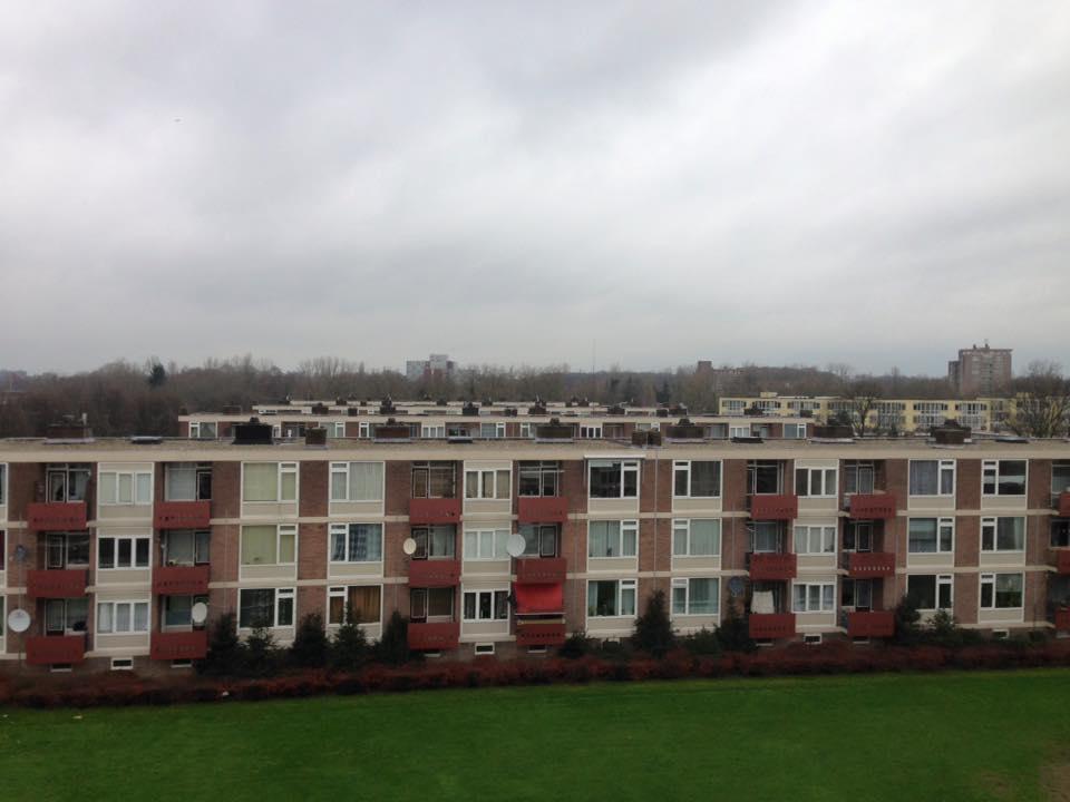 Schoorsteenrenovatie | 5 flats | Nijmegen