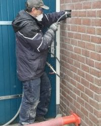 Verwijderen oude isolatie 6 woningen I Nijmegen | Neopixels®